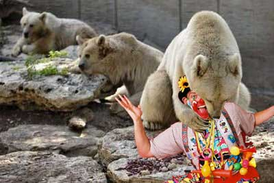 Bear Eats Clown